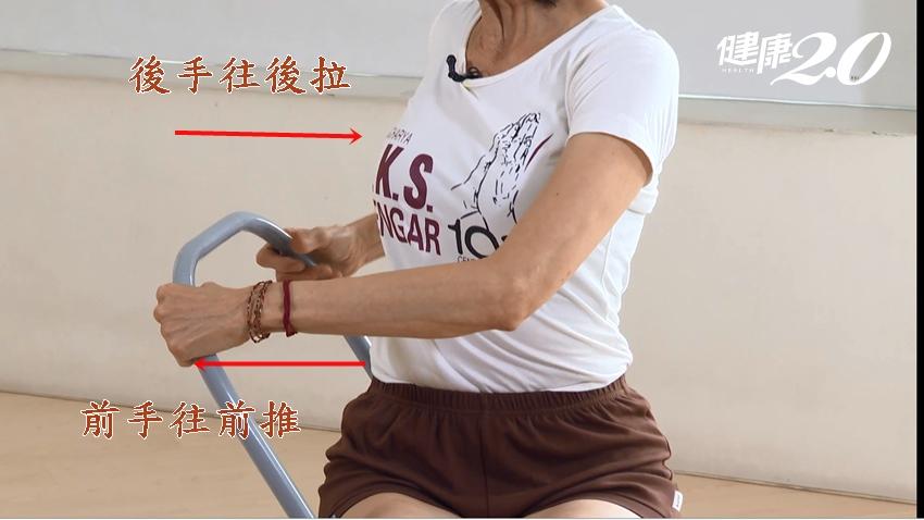 防疫「動」起來! 71歲陳淑麗四招椅子瑜伽 鬆肩、開胸、強化免疫力