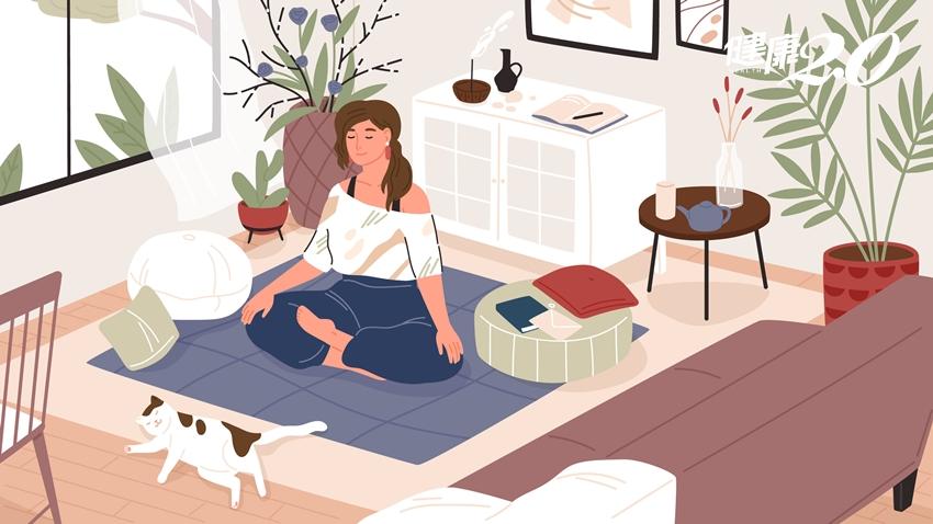 「靜坐3訣」提升免疫力、改善內分泌和新陳代謝