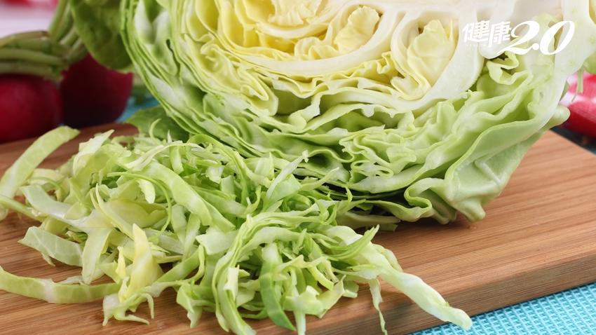 台大營養學老師:「高麗菜」防5種癌症!還能改善胃潰瘍、增強骨質