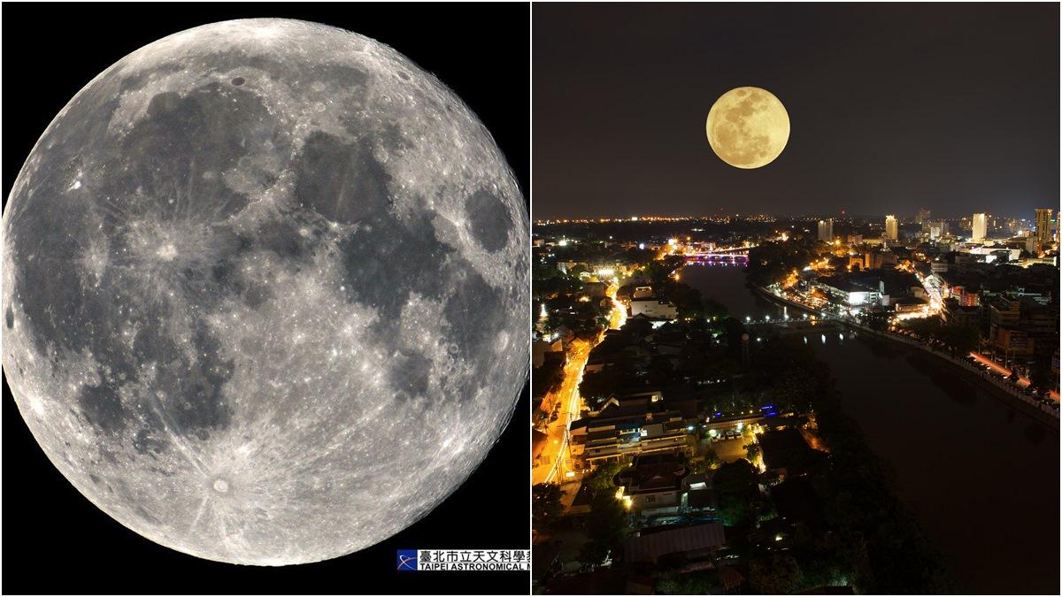 記得抬頭!「超級月亮」3/10起連續現身,直徑亮度全加倍「離地球超近」
