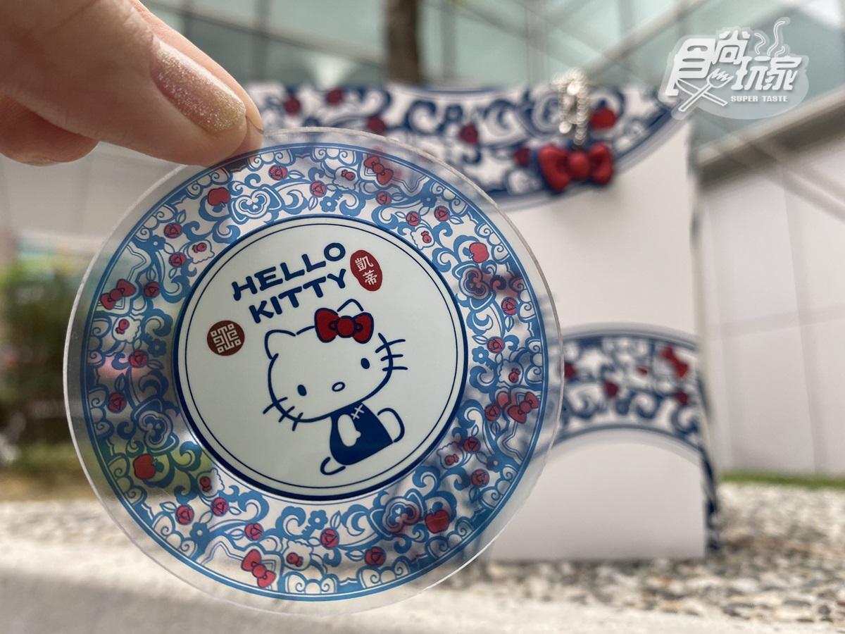 Hello Kitty穿旗袍「古典美爆發」!故宮x三麗鷗推「刺繡一卡通」,肉形石、翠玉白菜一起萌