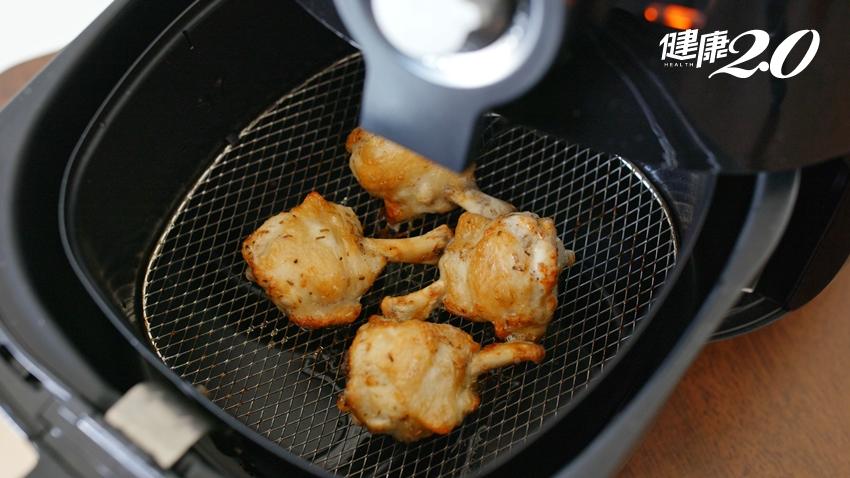 「氣炸鍋」當心食物交叉污染、致癌物 食品科學系教授提醒2關鍵