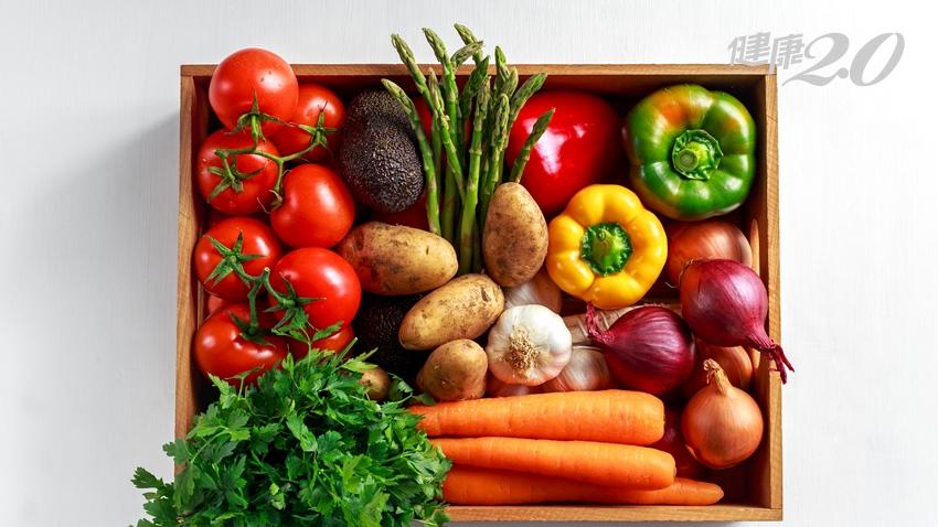 糖化+氧化=老化 彩虹蔬菜回春力超強 吃對還能穩定血糖