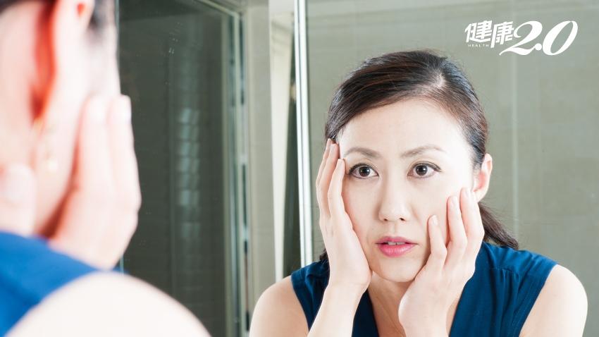 年過30後臉變小,別高興太早!2個徵兆代表骨力正萎縮,快檢查「這」裡