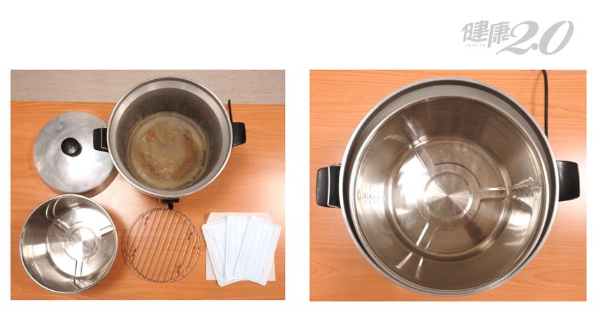 有用!「電鍋乾熱殺菌」復活口罩 食藥署實測:過濾效能仍在