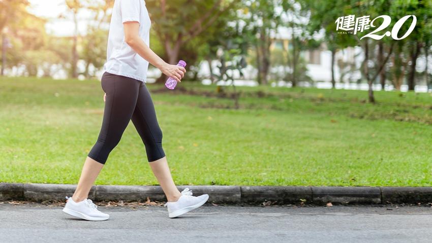 走路就能延長壽命 多加這動作更完美,半年內大腿肌肉增2成