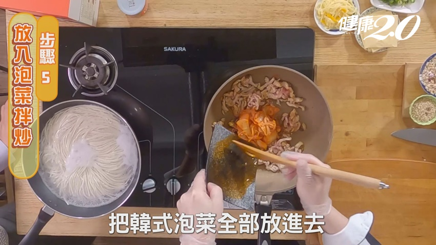 不想吃米飯?御廚雷議宗教你做韓式泡菜起士米干 簡單又好吃