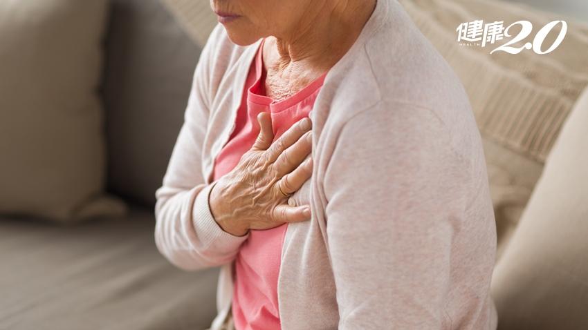 狹心症和心肌梗塞一樣嗎?不只胸痛,5種症狀要警覺!