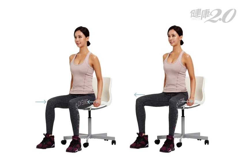 找回消失的臀腿界線!祕密是「坐五休一」好習慣+椅子伸展3招