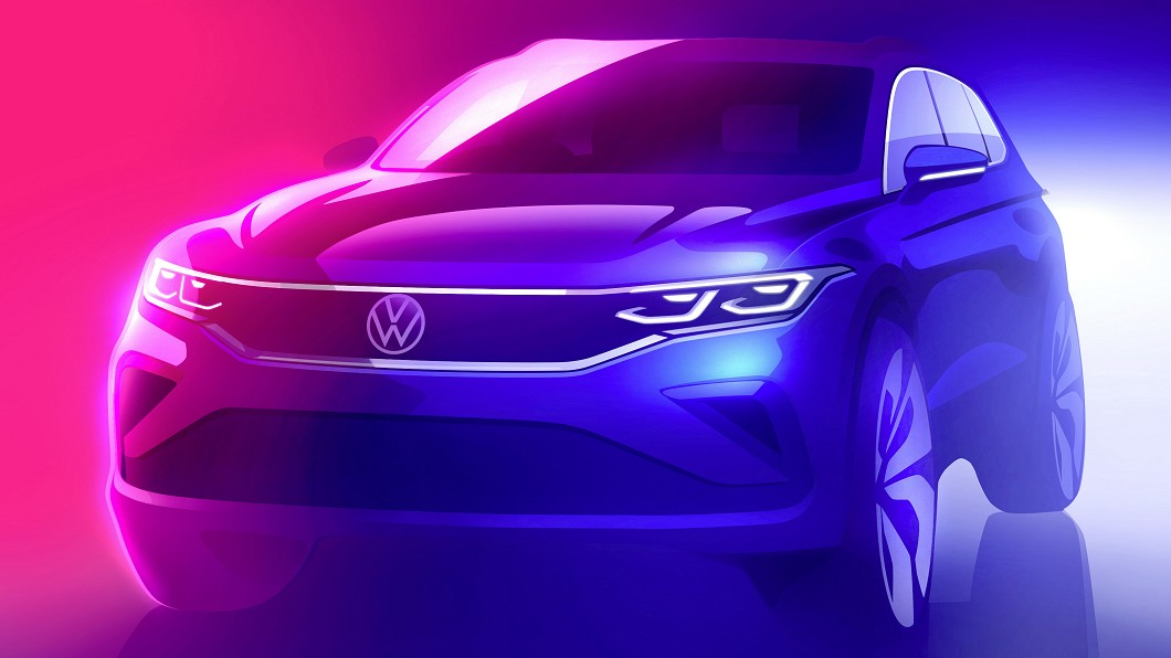 Volkswagen預告Tiguan今年將推小改款更新。(圖片來源/ Volkswagen) 小改VW Tiguan預覽圖曝光 今年就將現身