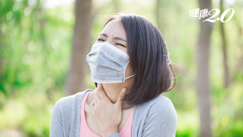 發燒喉嚨痛不是新冠肺炎!深頸部感染4狀況快就醫