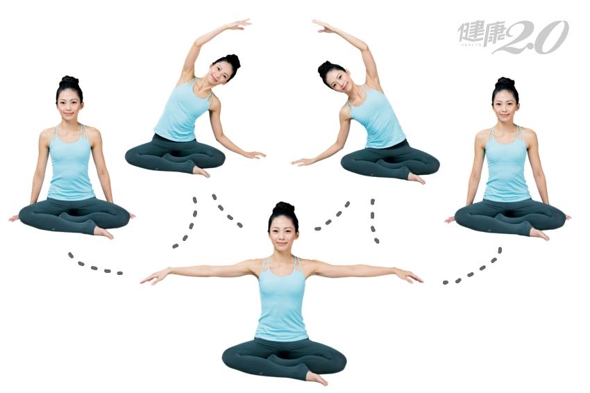 3招「坐姿瑜伽」練呼吸 身體、精神、思緒都療癒了