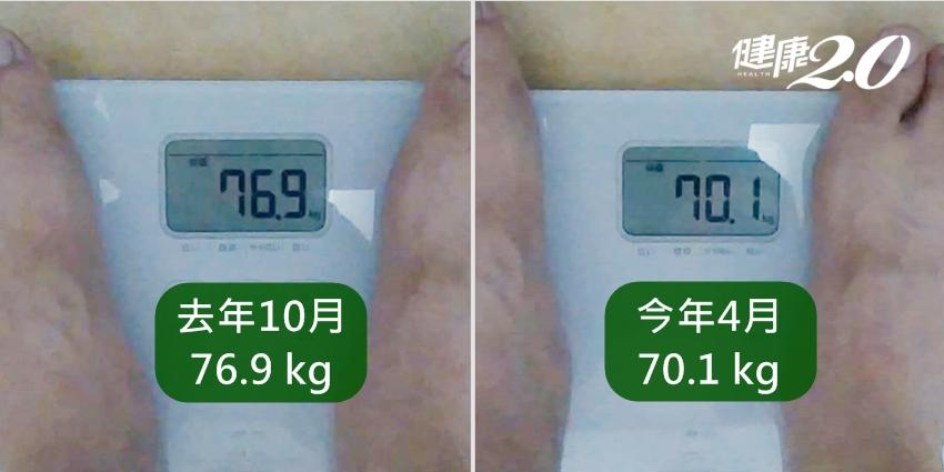 營養師實測6個月「健康瘦」7公斤!他公開輕斷食減重菜單