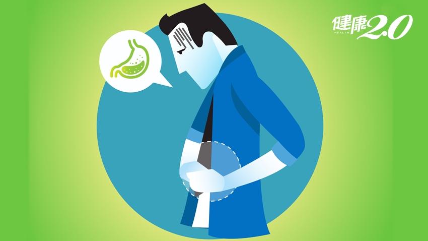 胃潰瘍是壓力大造成?醫師透露2個背後真相 不處理小心變胃癌!