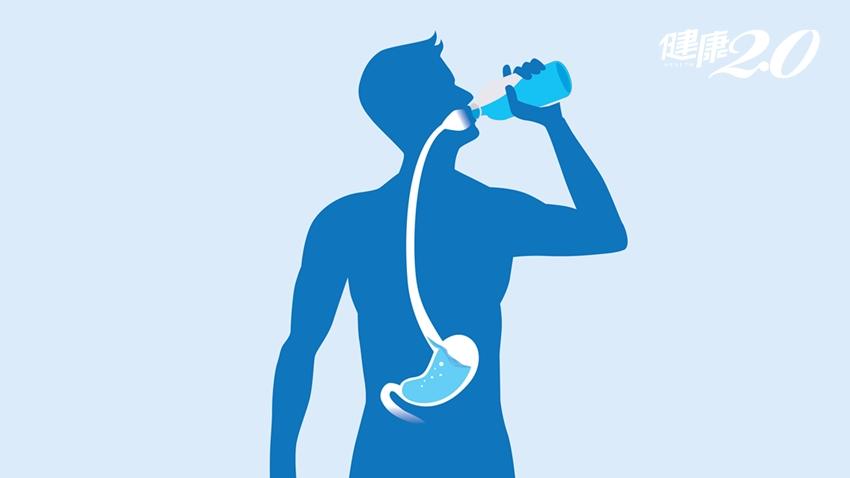 身體缺水也會腰痛?「多喝水」不會胖 還能減肥、減少慢性痛