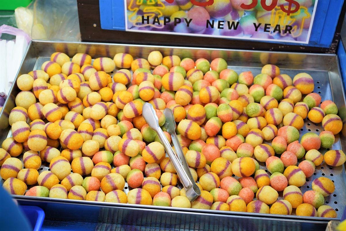 國民小吃化身IG打卡美食!「三色地瓜球」好吃更好拍,竟還有抹茶、西瓜、火龍果口味