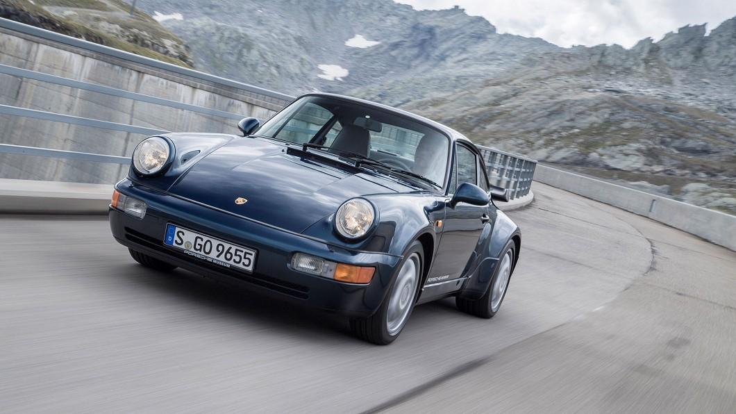 電影《絕地戰警》(Bad Boys)中的保時捷911 Turbo(Type 964)。(圖片來源/ 保時捷) 不只賽道常勝軍 保時捷讓經典電影更吸睛