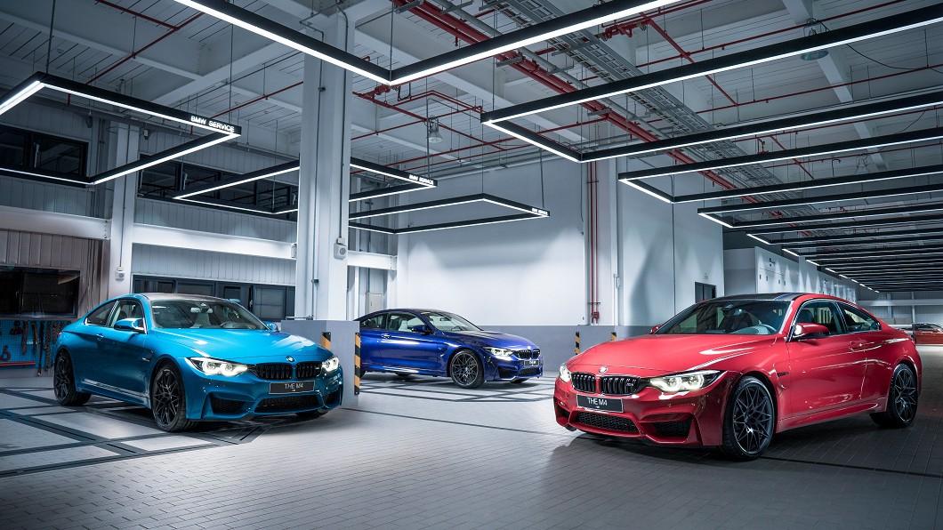 Edition M Heritage是由M Logo經典三原色所設計打造。(圖片來源/ BMW) 台灣僅五輛 BMW M4 M Heritage上市