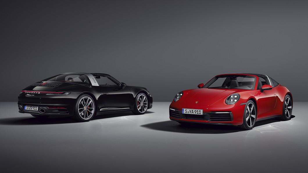 保時捷於5/18釋出全新992世代911 Targa 4以及911 Targa 4S兩款新車資訊。(圖片來源/ Porsche) 經典不敗 全新911 Targa 4及4S首度曝光!