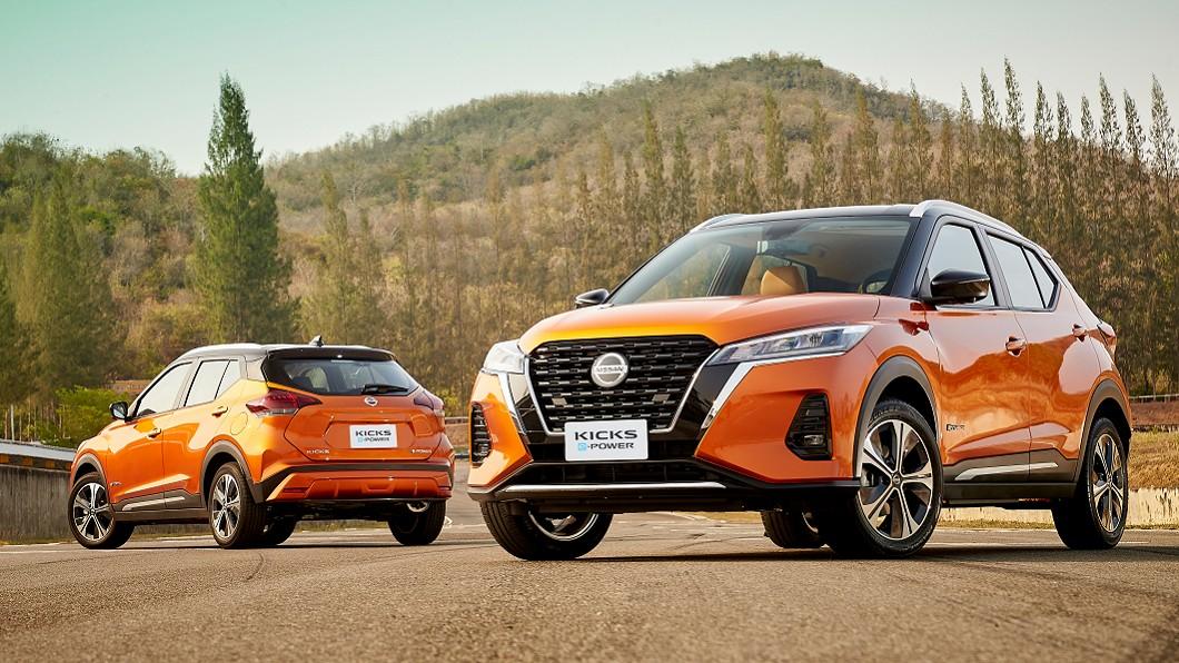 Nissan選於泰國發表小改款Kicks,並同步推出e-Power電動化動力。(圖片來源/ Nissan) 小改Kicks全球首演 e-Power電動版強勢出閘