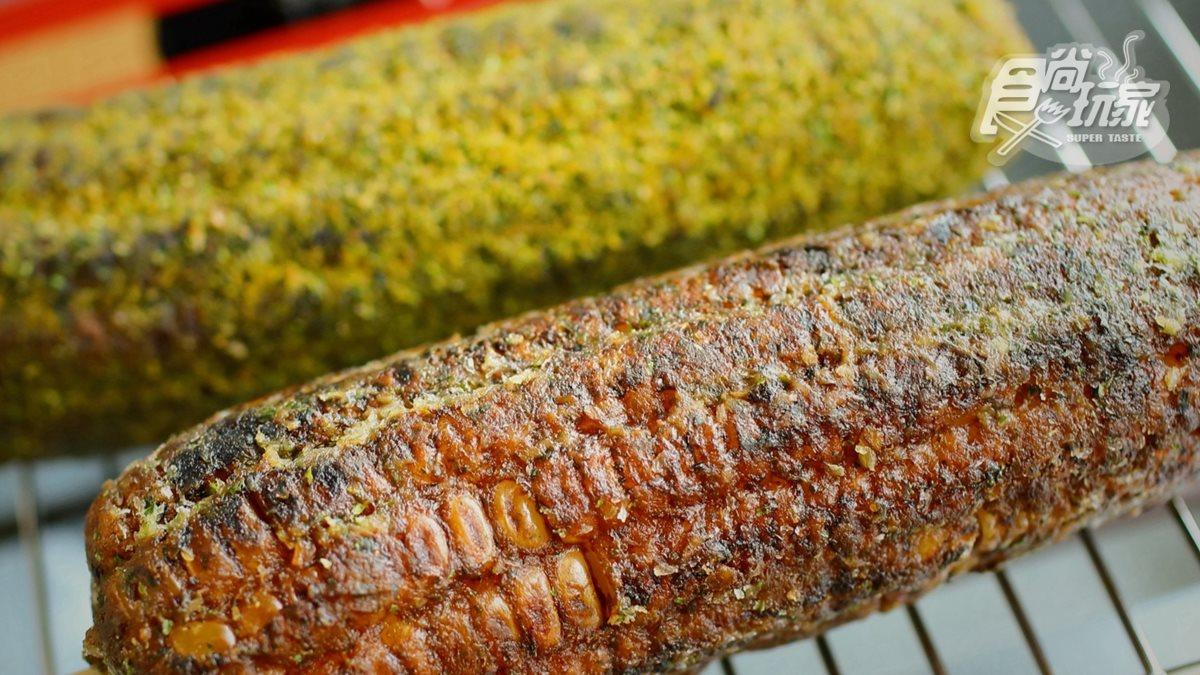 和現烤一樣好吃!逢甲夜市超人氣烤玉米「宅配到家」超方便