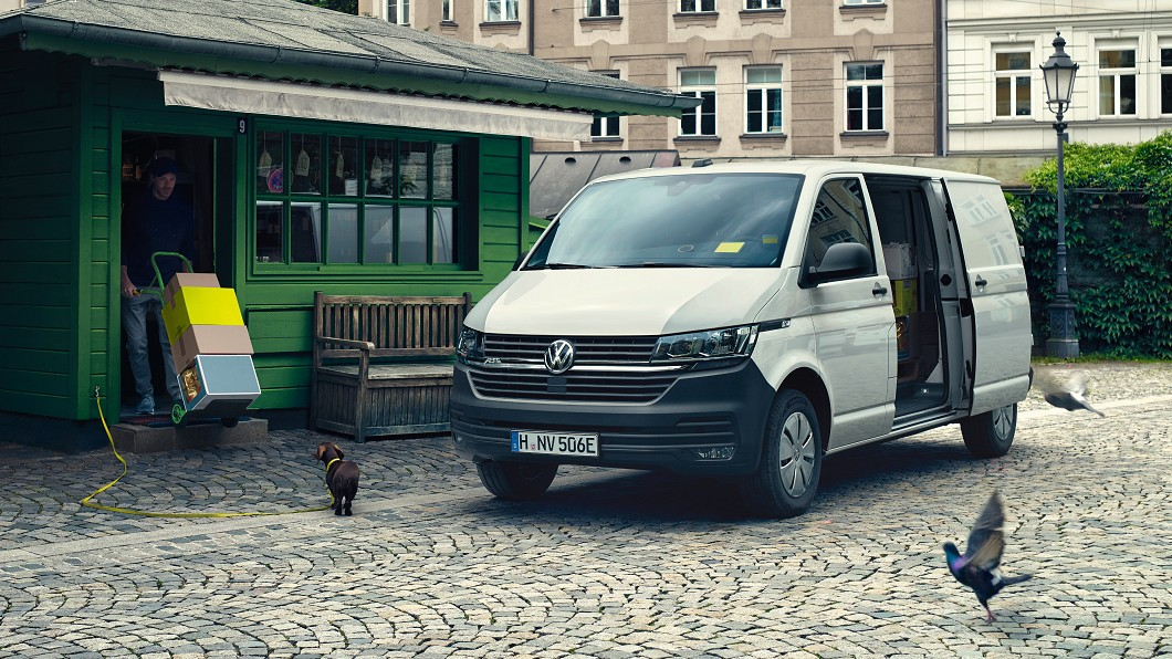 福斯商旅與Abt e-Line聯手打造e-Transporter 6.1純電商用車。(圖片來源/ VWCV) 福斯商旅攜手Abt e-T6.1繪製電動藍圖