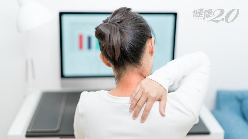 肩頸痠痛、手麻,竟是脖子椎間盤突出!醫提醒:6症狀注意「頸椎病變」