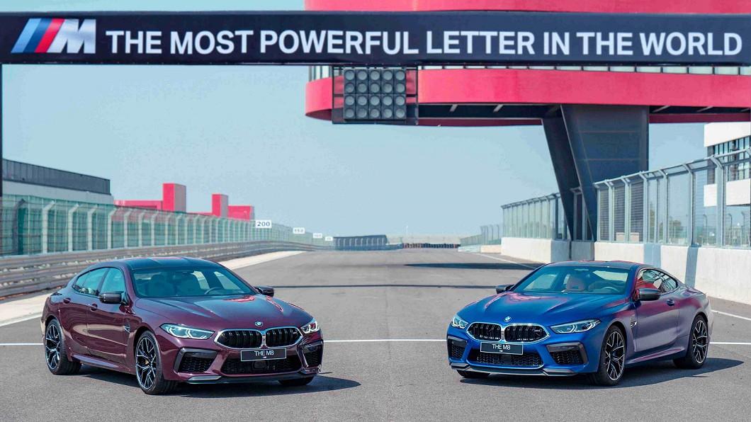 BMW總代理汎德一次導入Coupe以及Gran Coupe兩款車型。(圖片來源/ BMW) 絕對剽悍 M8 Coupe/Gran Coup登場