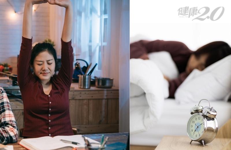 「熬夜不要吃泡麵」有原因!名醫警告:週末補眠別超過2小時