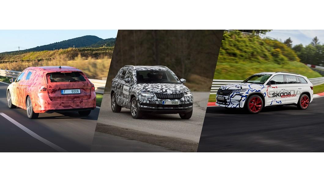 Škoda透露偽裝車秘密,不僅可以遮掩細節還可作為宣傳手段。(圖片來源/ Škoda) 不只是為了遮掩 Škoda透露原型車偽裝秘密