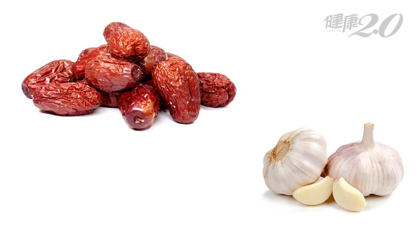 大蒜和紅棗同食容易頭痛?吃藥膳補藥時千萬不能配這些蔬菜,有地雷