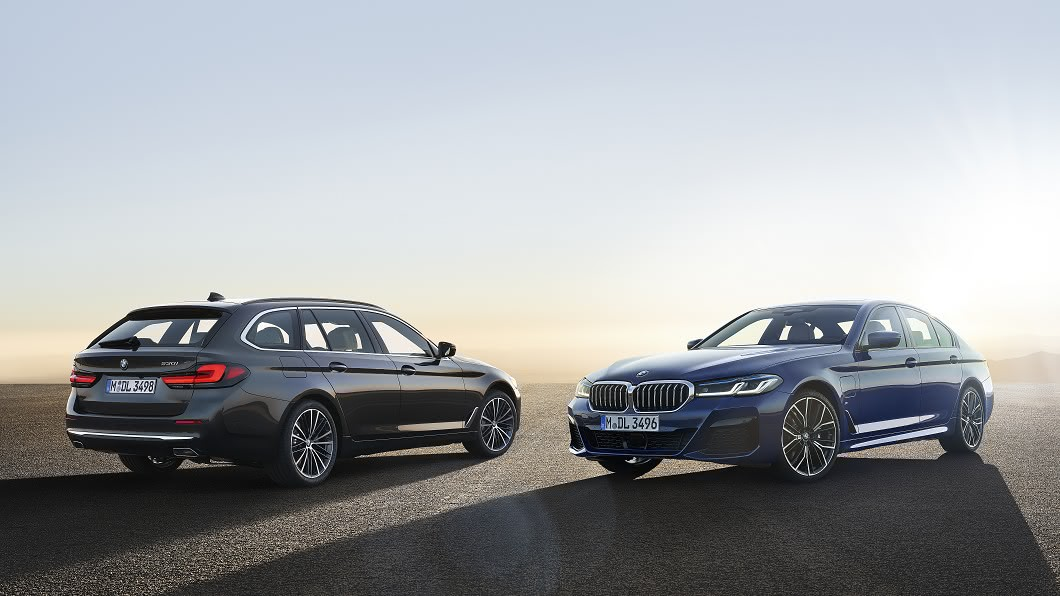 BMW於5月27日在官方正式公布2021年5系列改款資訊,並導入兩款油電混合車型。(圖片來源/ BMW) 小改款BMW 5系列亮相 油電陣容再擴張