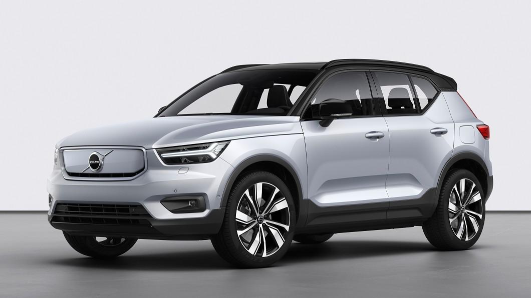 Volvo首款純電動SUV車款XC40 Recharge於英國正式開賣,預計2021年開始交車。(圖片來源/ Volvo) XC40 Recharge英國上市 明年底登陸台灣