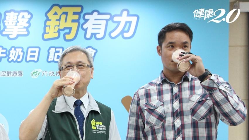 國人逾8成鈣不足 國健署建議1 天2杯奶補鈣,「大師兄」林智勝也說讚