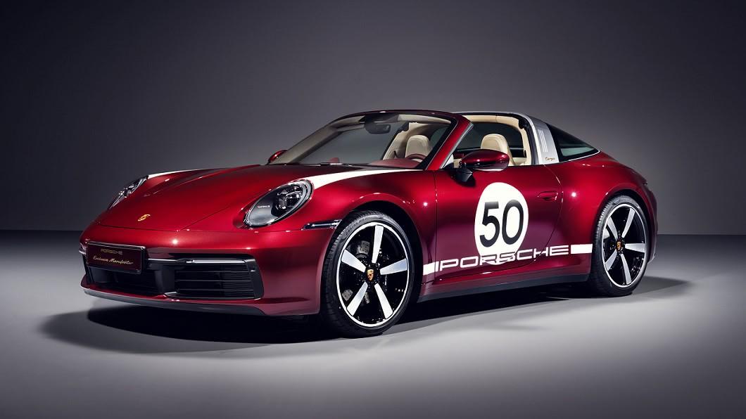 911 Targa 4S HDE 的設計靈感是來自於1950至1960年代的911經典元素。(圖片來源/ Porsche) 911 Targa 4S HDE限量版 售價突破千萬