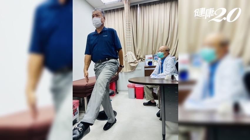 他膝痛34年,關節鏡手術+PRP一個月能踢正步打球 醫師揭護膝最好的方法 在家就能做