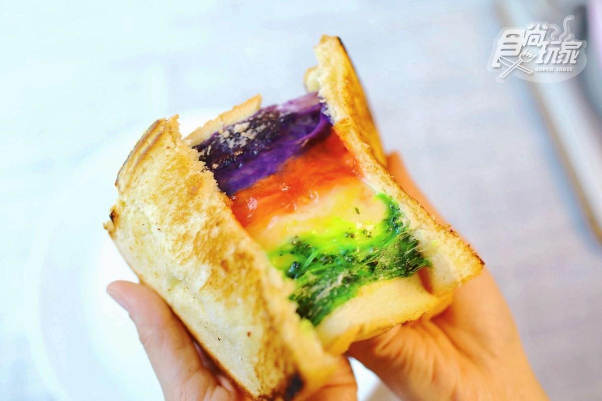 起司控會愛死!宅配美食「爆漿乳酪」三明治,「彩虹牽絲」吐司必吃
