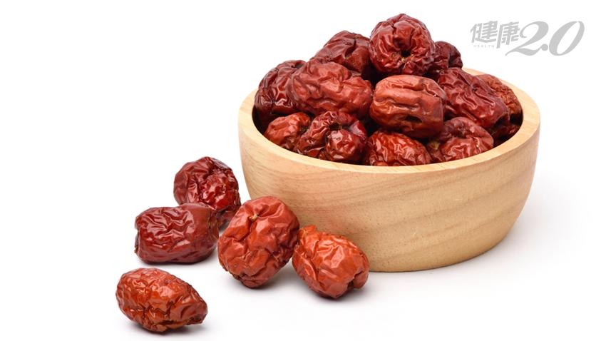 吃紅棗要注意!維生素C是蘋果的75倍、抗氧化補氣養血 3種人禁吃