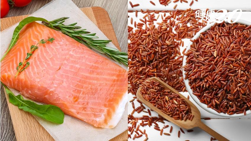 夏日護心必吃「紅色食物」!鮭魚、紅米抗氧化強 預防心血管疾病