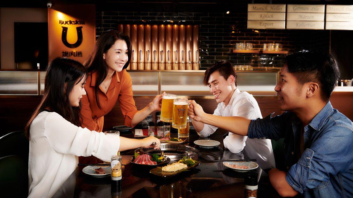 餐酒館也有吃到飽!12款柏克金啤酒任你喝,牛排、伊比利火腿無限量供應