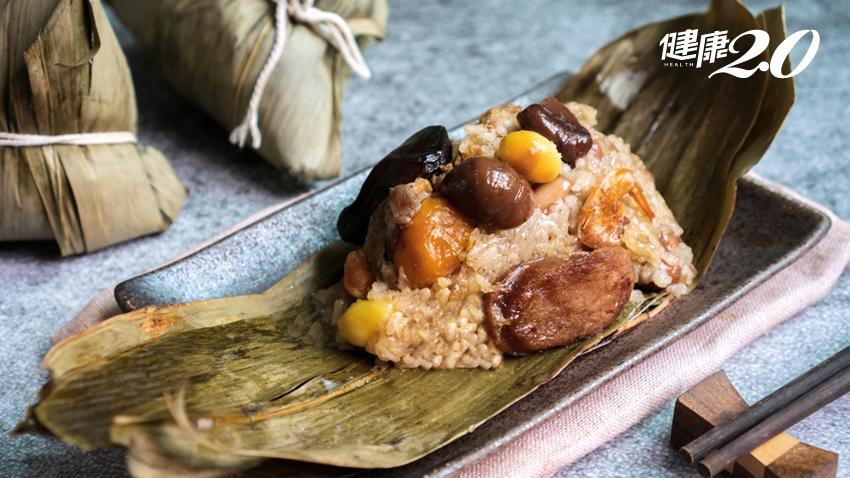 愛吃「蛋黃粽」身體受不了!營養師1張表揭粽子地雷、慢性病食材禁忌
