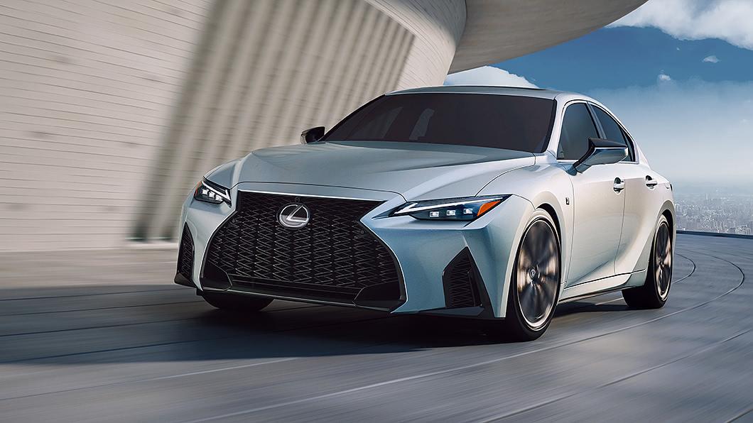 Lexus正式發表IS車系二次小改款更新。(圖片來源/ Lexus) Lexus IS二度小改出閘 內外升級改很大!