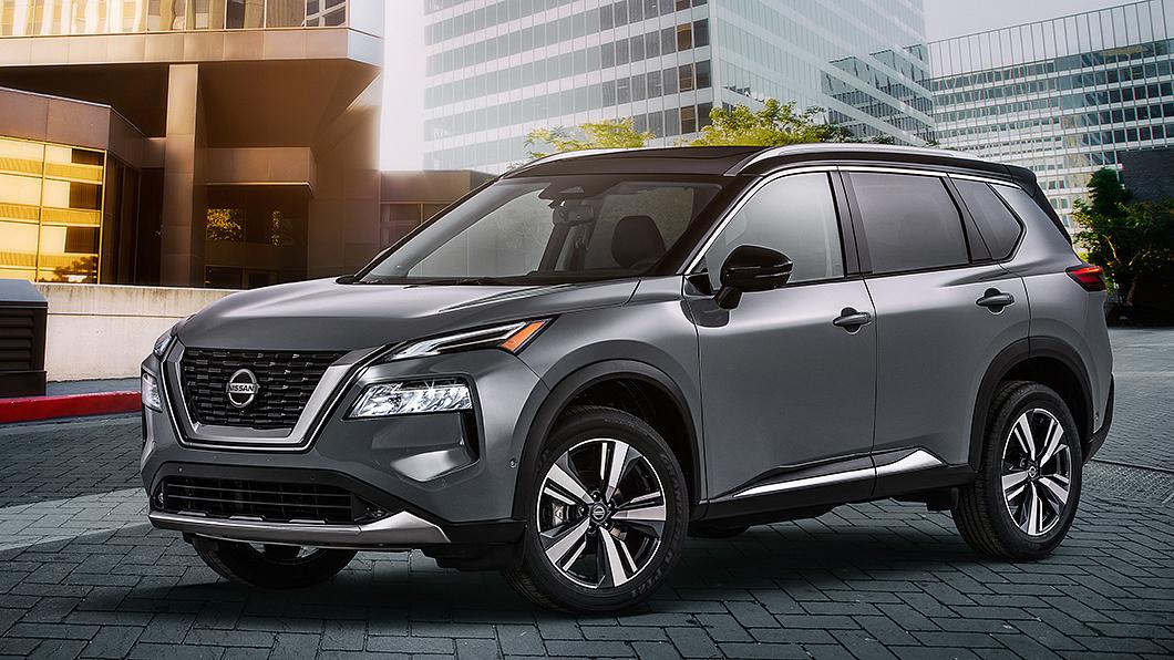 北美市場銷售的Rogue搶先進行大改款更新,預告X-Trail將邁入世代更替。(圖片來源/ Nissan) 美規X-Trail大改款登場 數位化安全感全面進化