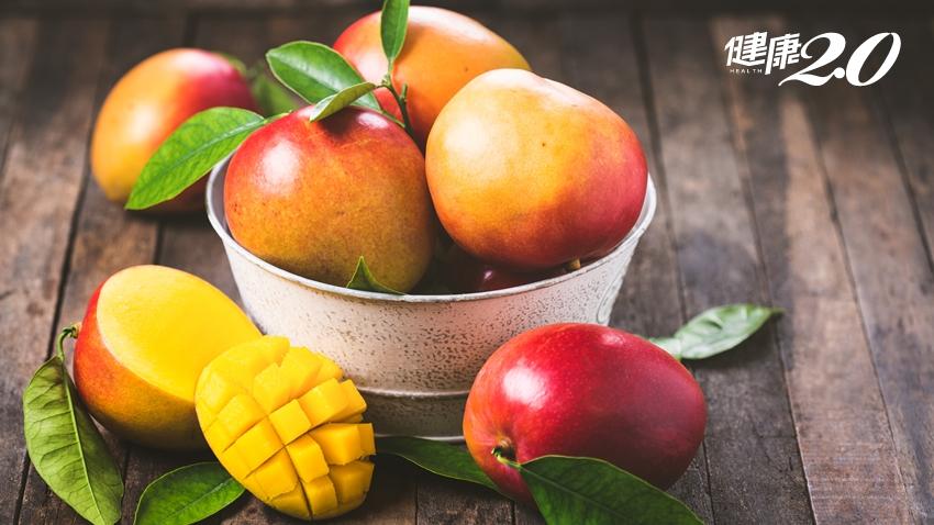 芒果很毒會過敏?營養師揭1招預防 多吃芒果護眼、防癌、強健骨骼