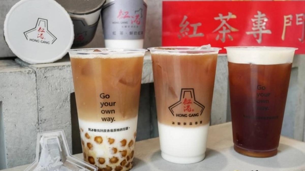 【新開店】半夜也能喝!台南個性手搖飲只賣6品項,漸層鮮奶紅茶再搭冰糖白玉更唰嘴