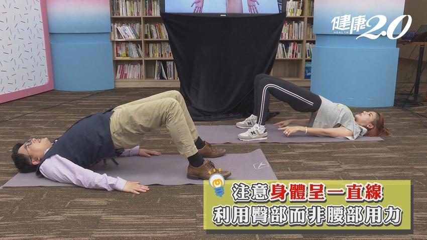 預防痔瘡發作大爆血!江坤俊教你3招「縮肛運動」每天都要做