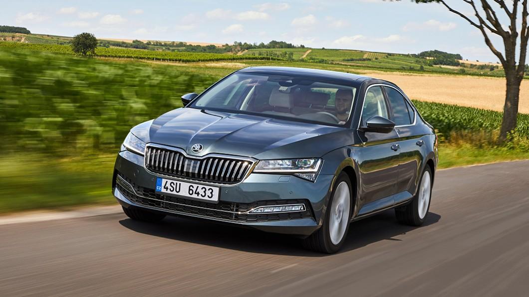 小改款Superb車系預計今年第四季來台。(圖片來源/ Škoda) 小改Superb規劃第四季來台 推估首波採雙動力編成