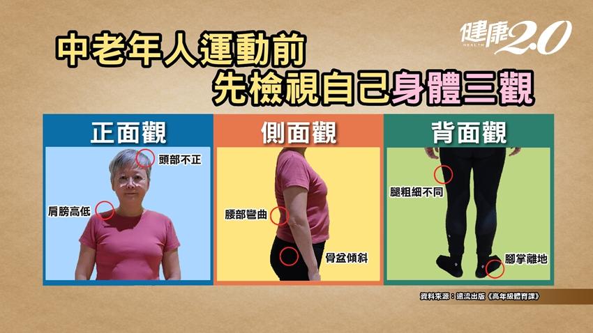 運動降低心血管疾病死亡率,幾歲開始都有效!2招啟動身體核心