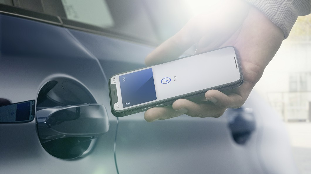 BMW將成為第一個使用蘋果CarKey的汽車品牌。(圖片來源/ BMW) 蘋果發表CarKey iPhone就是你的汽車鑰匙