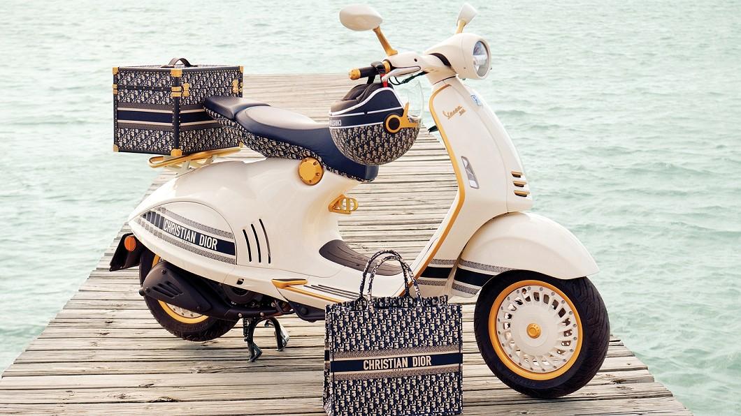 (圖片來源/ Vespa) Vespa偉士牌攜手Dior 跨界打造特仕車款